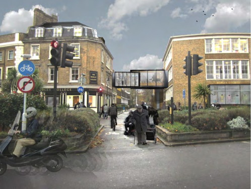 Morley College to build bridge across Lambeth/Southwark border