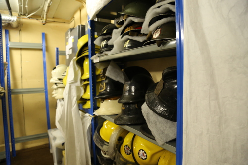 London Fire Brigade Museum collection put into storage