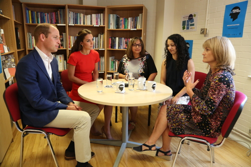 Royals in SE1: William and Kate visit YoungMinds charity