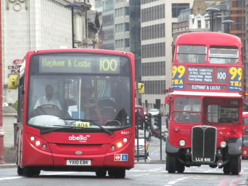 TfL plans to extend bus route 388 to the Elephant but curtail 100