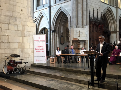 Sadiq: Londoners must mix with those of different backgrounds