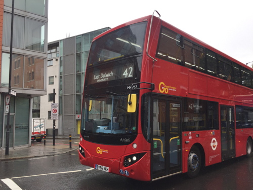 Double-deck buses introduced on route 42