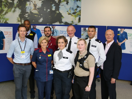 Body-worn cameras for Guy's & St Thomas' security staff
