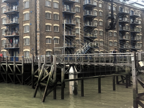 St Saviour's Dock footbridge to be replaced