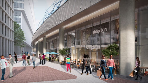 Waterloo International: shopping centre plans approved