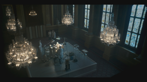 The Crown: Guy's Hospital surgical team in Netflix drama