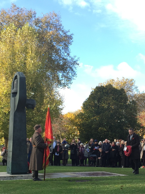 Armistice Day and Remembrance Sunday 2016