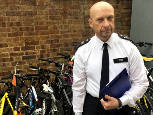 Had a bike stolen? It might be at Kennington Police Station