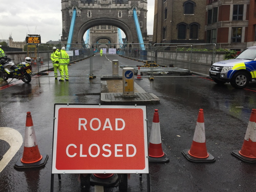 City cuts Tower Bridge pedestrian closures from six days to one