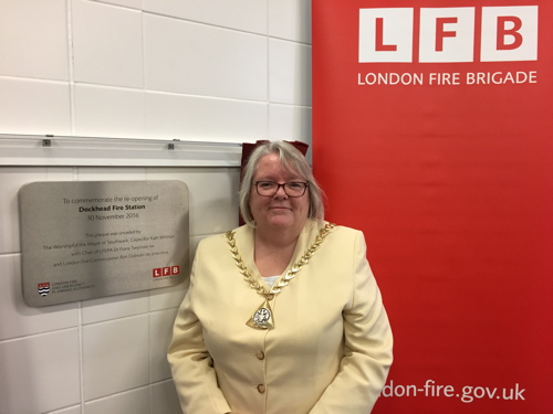 Dockhead Fire Station reopened after PFI rebuild project