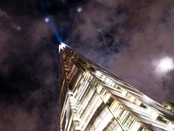 Shard Lights: tallest building illuminated with seasonal sparkles