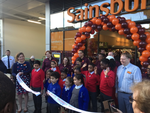 Sainsbury's opens Elephant & Castle store in New Kent Road