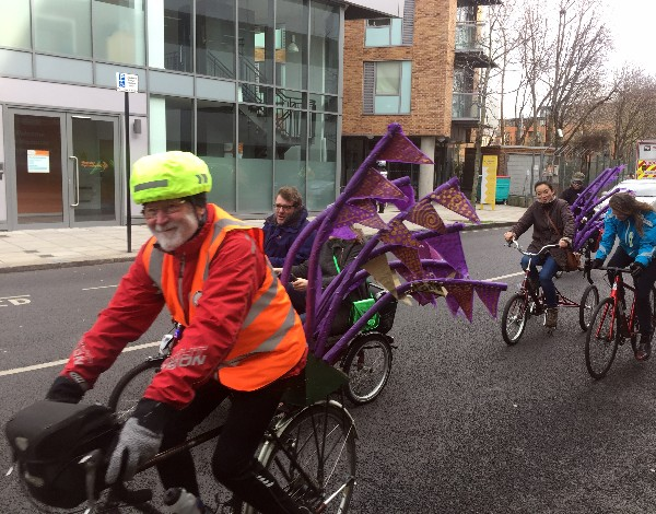 Shrove Tuesday in SE1: pancake races and a Mardi Gras bike parade