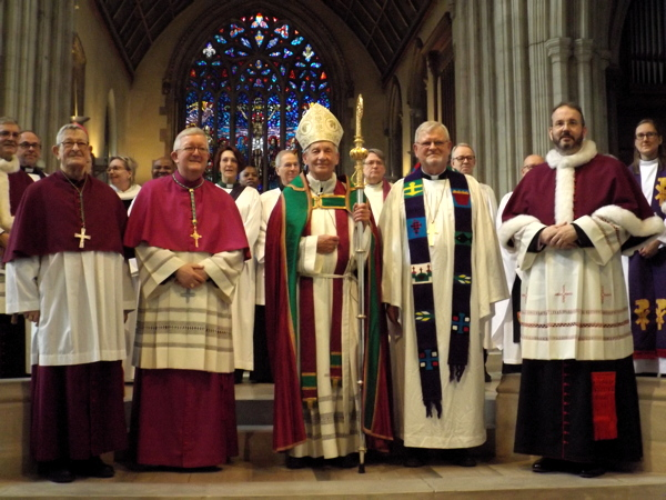 Catholics and Lutherans hold joint service 500 years after Reformation