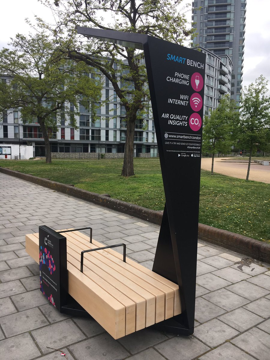 Wifi Service Plans >> 'Smart benches' with free wifi & USB chargers coming to Southwark [15 May 2017]