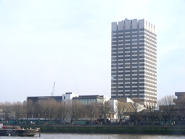 ITV's London Television Centre on the South Bank