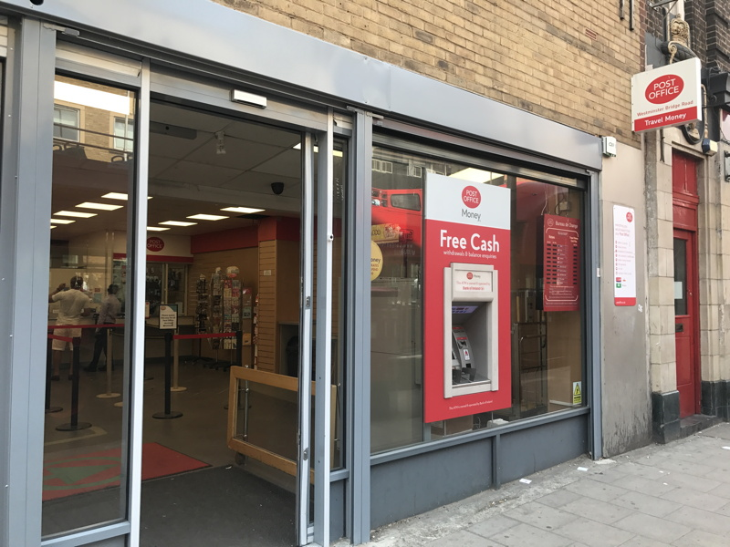Westminster Bridge Road Post Office for sale