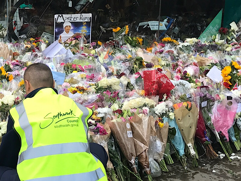 London Bridge attack: council plans for permanent memorial