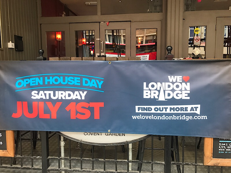 We Love London Bridge: venues and attractions host Open House Day