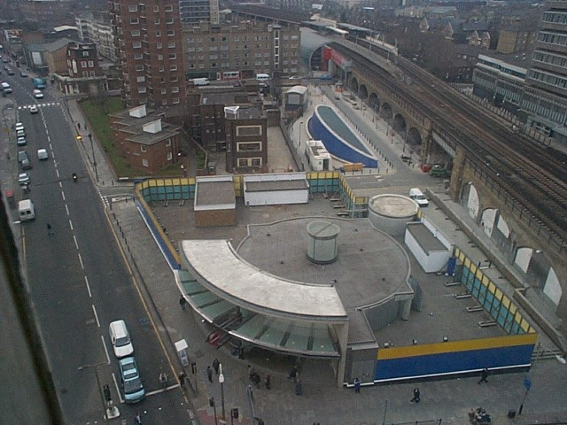 Southwark Station listing rejected; part-demolition proposed