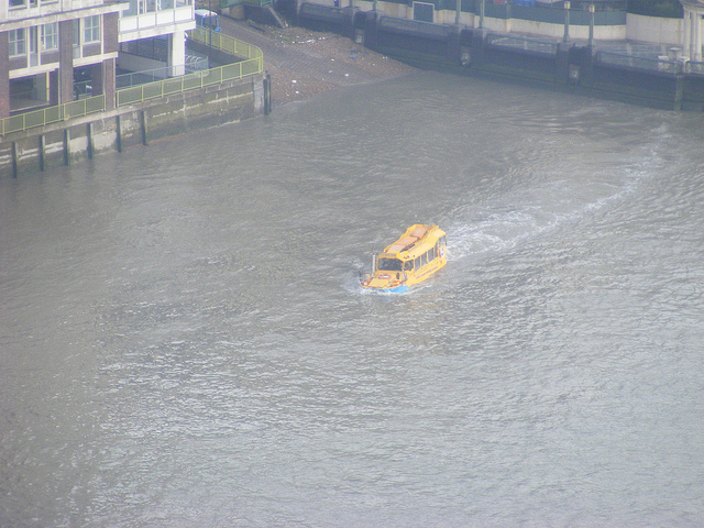 London Duck Tours to vanish from Thames after losing slipway access