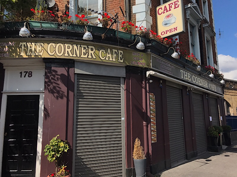 Lambeth Road's Corner Cafe closed after fire