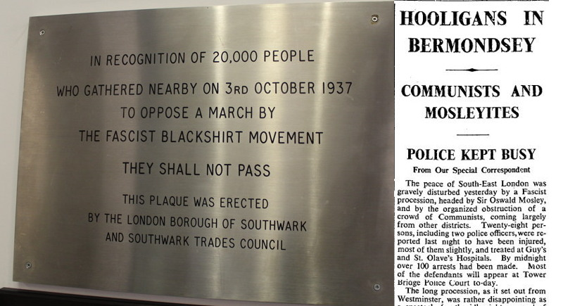 80 years since Bermondsey stood up to the Blackshirts