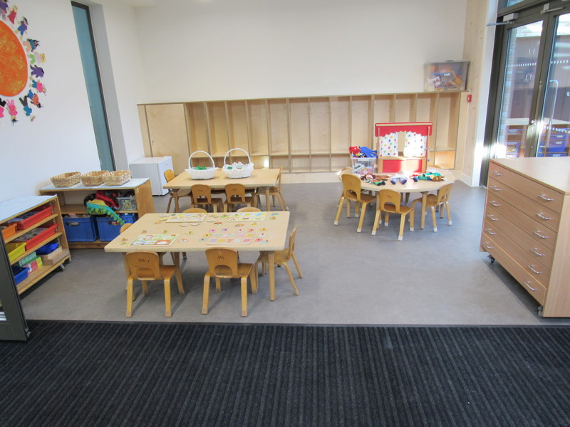 Grange Primary School - new building completed