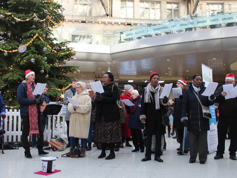 12 hours of non-stop carols to raise funds for foodbank