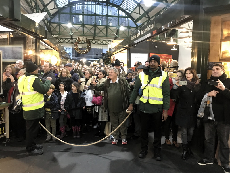 Charles and Camilla visit Borough Market and Southwark Cathedral