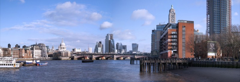 How views of the Square Mile from SE1 will change by 2026