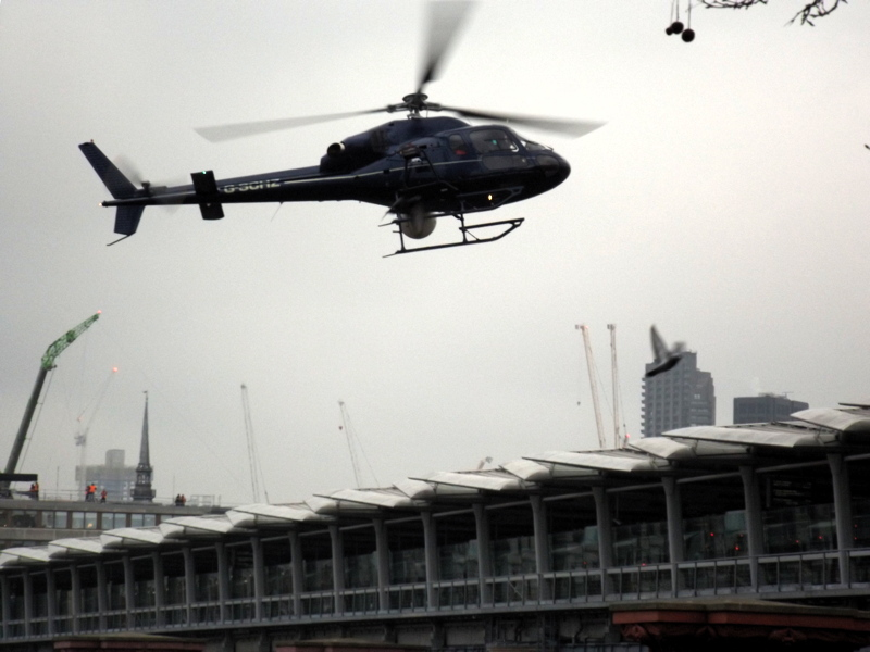 Mission: Impossible 6 filming at Blackfriars Railway Station