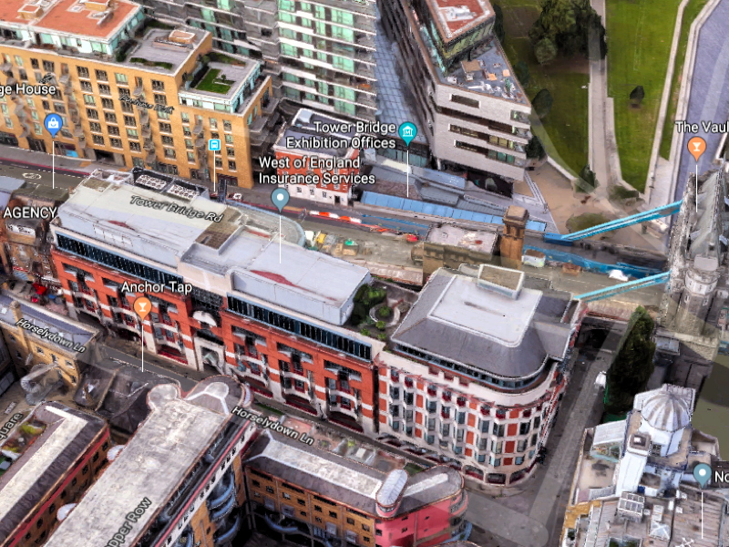 'Landmark' development mooted next to Tower Bridge & Shad Thames