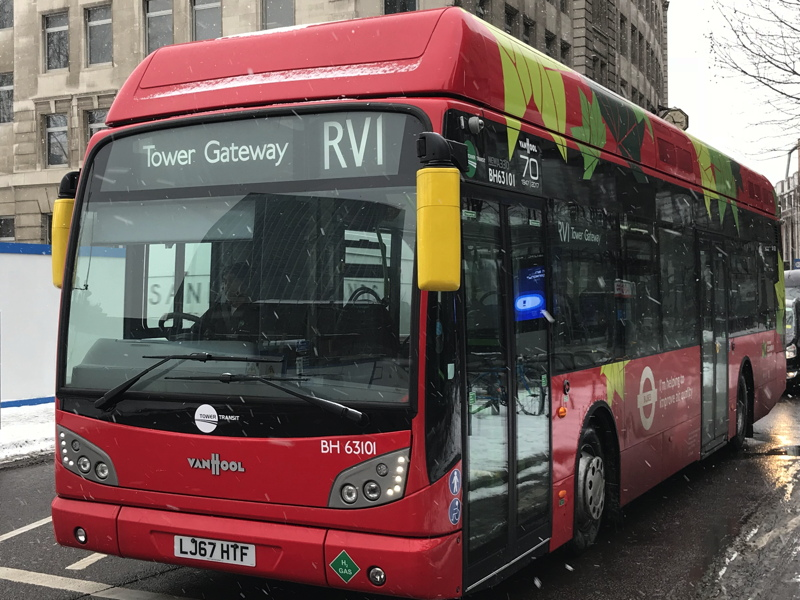 Sadiq says RV1 bus service cut will be reviewed after six months