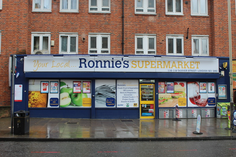 New Post Office opens at Ronnie's Supermarket in Tanner Street