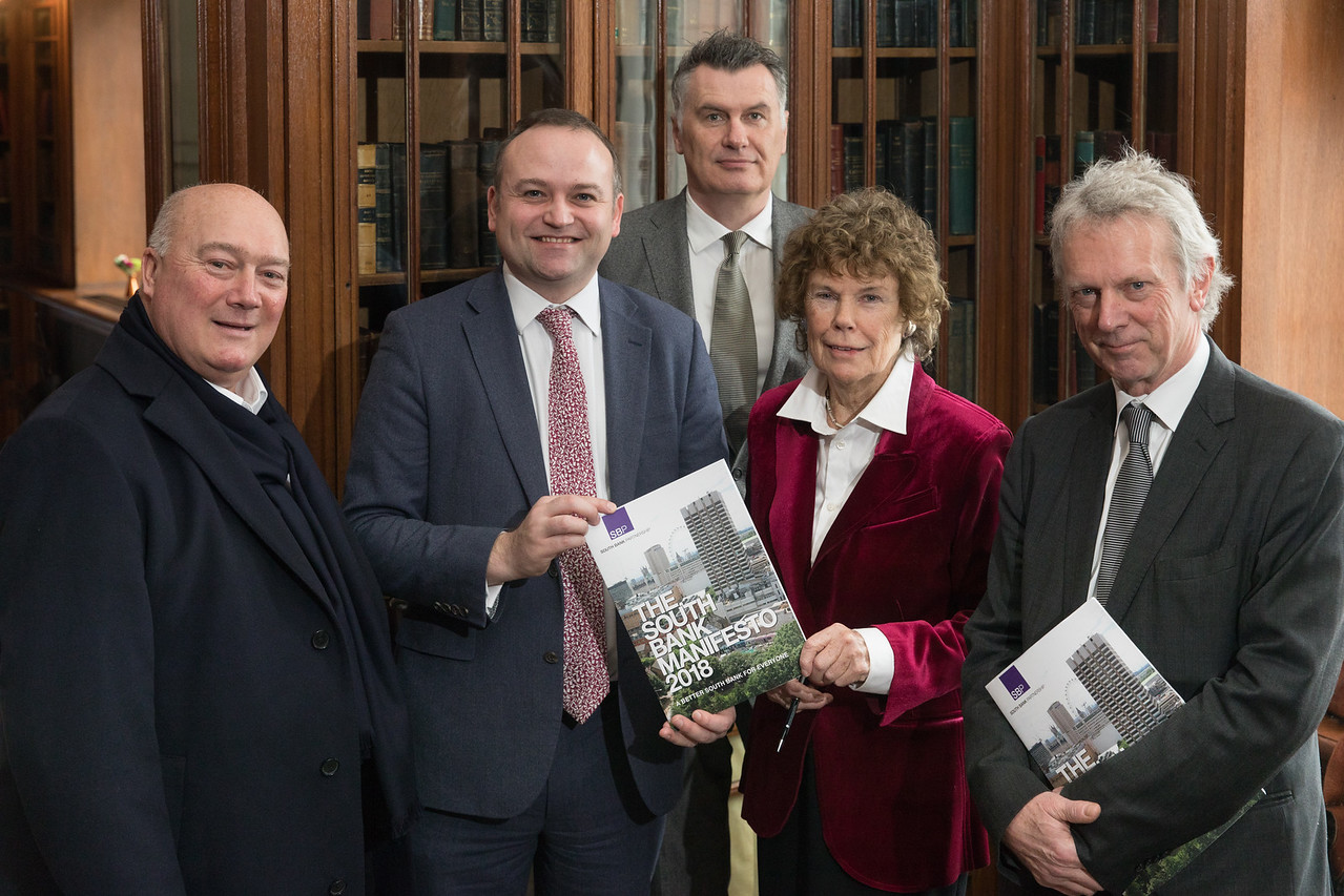 David Sharpe, Neil Coyle, Nic Durston, Kate Hoey a