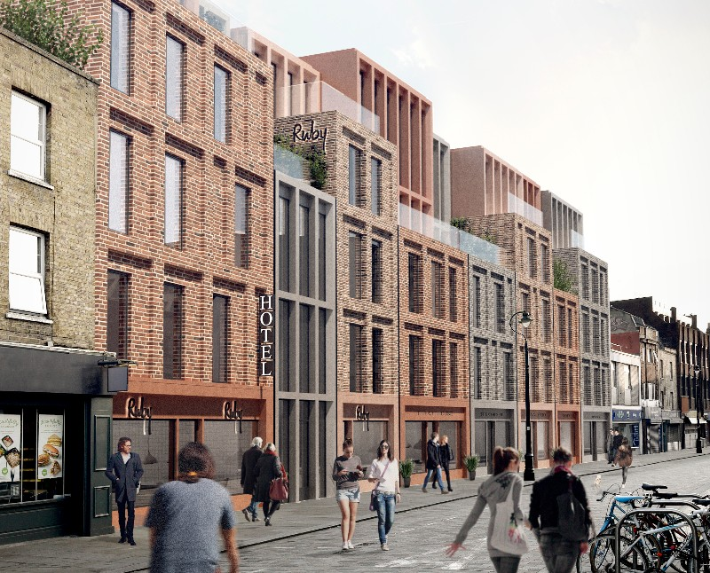 Ruby Lucy: details of Lower Marsh's 'lean luxury' hotel revealed