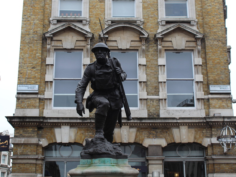 Borough High Street War Memorial: listed status upgraded