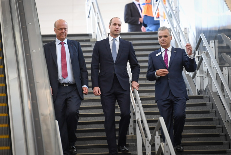 Prince William at London Bridge to open rebuilt railway station