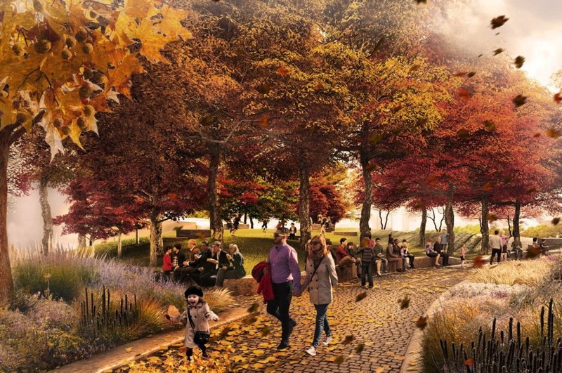 Bernie Spain Gardens: West 8 chosen to upgrade South Bank park