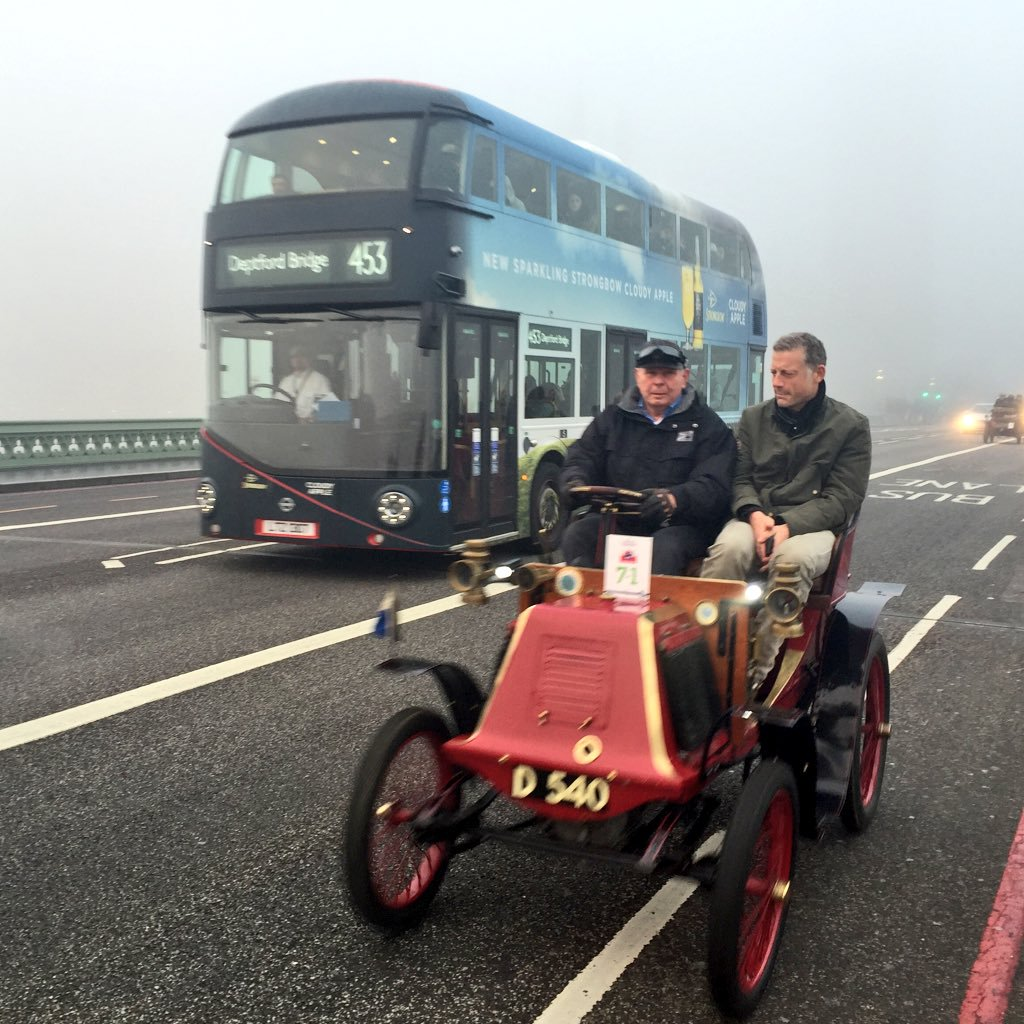 London to Brighton Veteran Car Run to split event into two routes