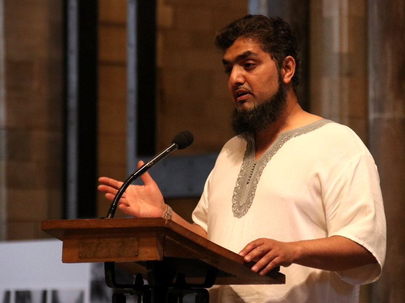 Grand Iftar held at Southwark Cathedral on anniversary of attack
