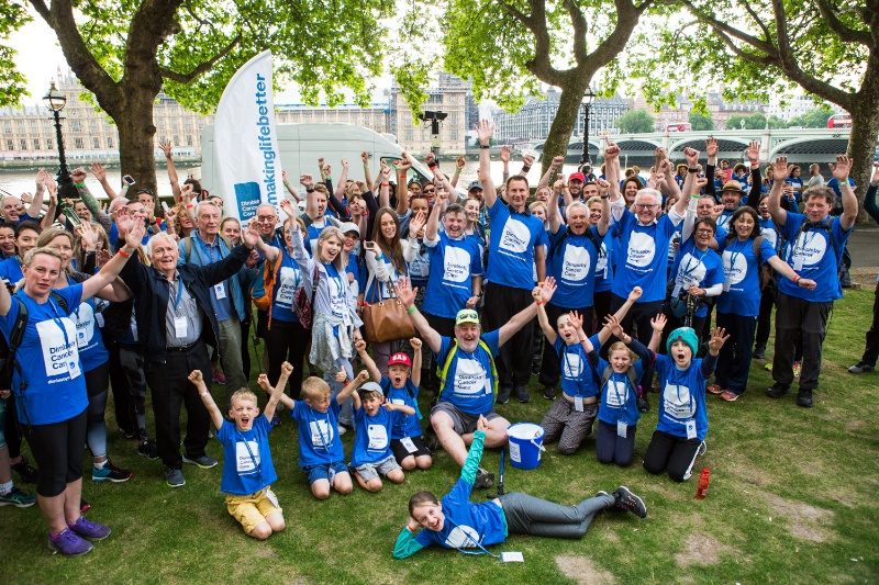 Jeremy Hunt joins overnight walk for Dimbleby Cancer Care charity