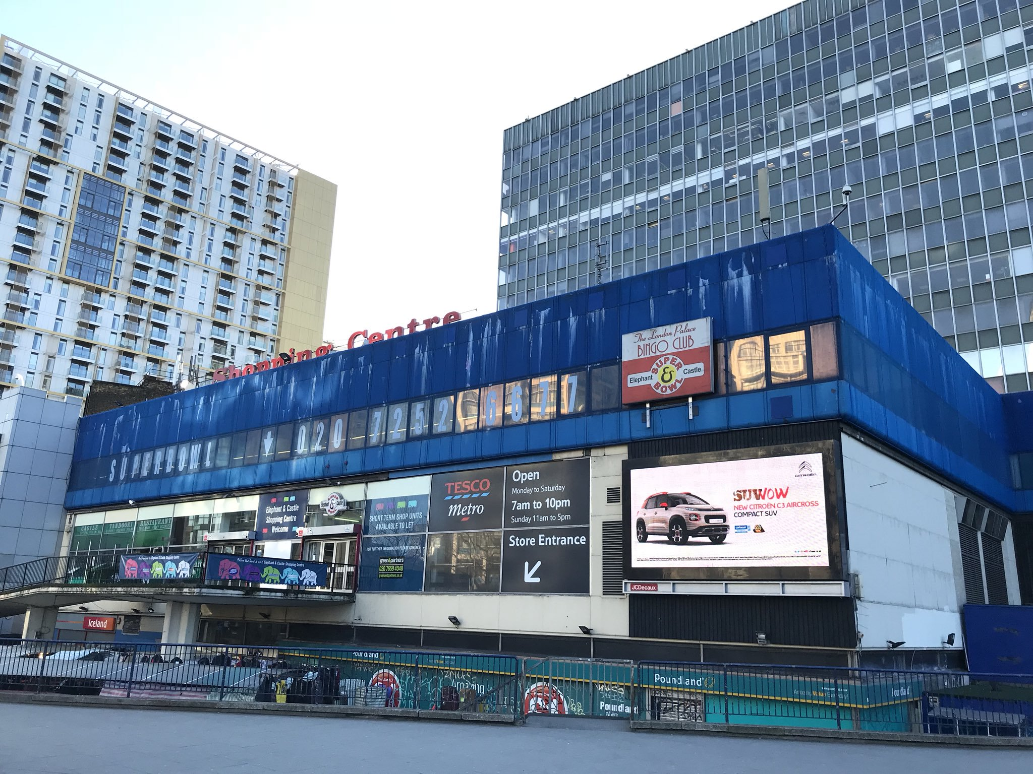 Elephant & Castle Shopping Centre: bid made for listed status