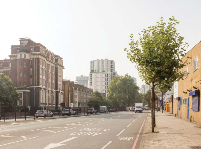 13-storey tower to replace KwikFit on New Kent Road