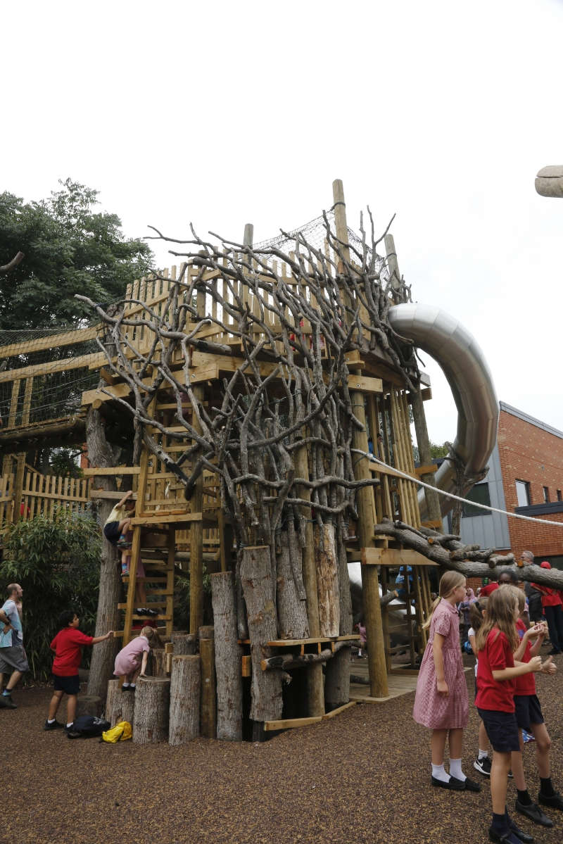 Mint Street Adventure Playground reopens after £2.45 million revamp