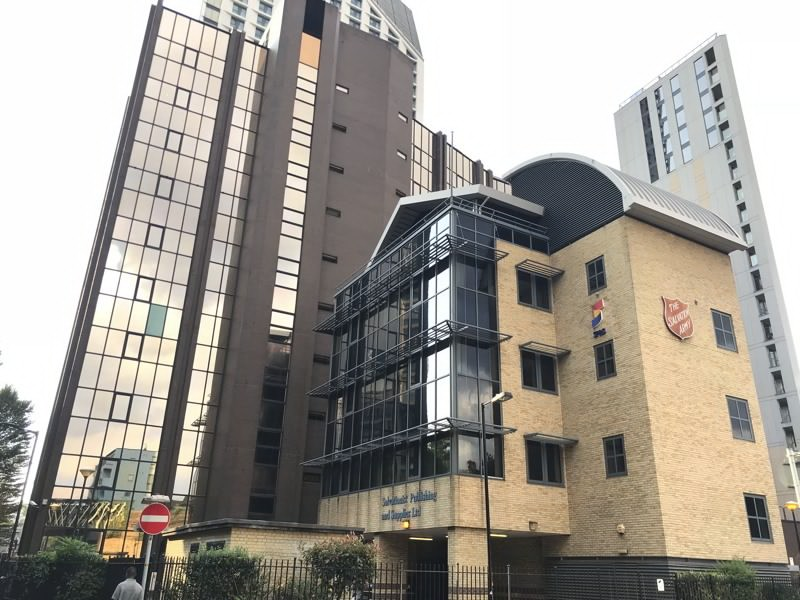 Salvation Army seeks £45 million for Elephant & Castle HQ