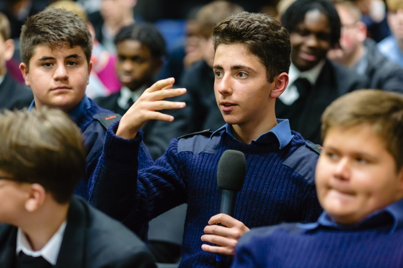 London Nautical School hosts 'Great War Debate'
