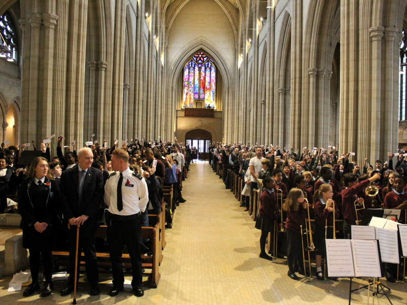 INSPIRE remembrance & peacemaking events at SE1's two cathedrals