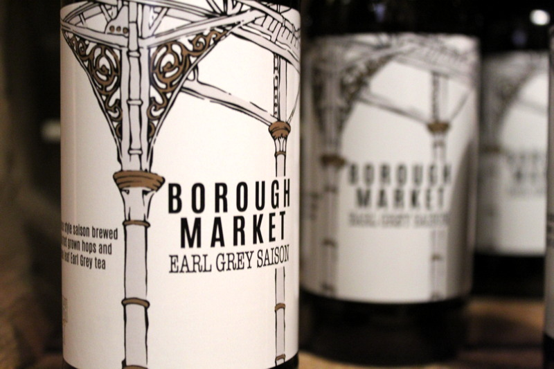 Borough Market's latest beer now on sale
